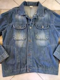 Jaqueta jeans masculina tamanho M