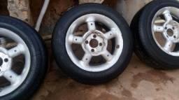 Vendo com pneu