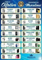 10 Perfumes Amakha Paris Masculino para revenda