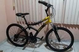 Título do anúncio: Bicicleta caloi max front aro 24 de 21 marchas