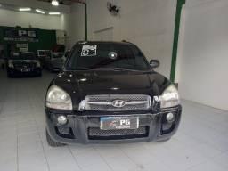 Hyundai Tucson GL 2.0 Gasolina AUT. - Preta - 2007 - Couro - Impecavél!