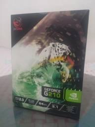 Placa de Vídeo Geforce G210 PCYes (NOVÍSSIMA, pouco tempo de uso)