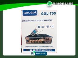 Título do anúncio: Amplificador De Áudio Com Bluetooth Ketchup-705