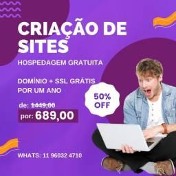 Título do anúncio: Criação De Sites, Lojas Virtuais, Blogs, LandingPages e Catálogo Digital