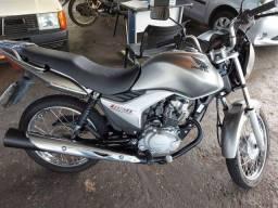 Titan 150 2009 cinza unico dono $7500 motor na garantia