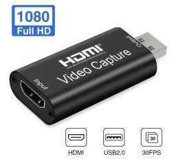 Adaptador Hdmi Usb 2.0 Placa Captura Vídeo Áudio 1080p 4k<br><br><br>