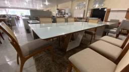 Mesa de jantar Copacabana de 8 lugares