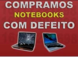 Compr notebooks com defeitos