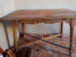 Mesa madeira maciça 1,20 x 0,60