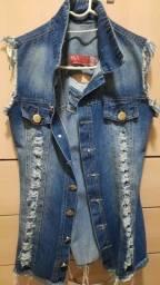 Max colete jeans