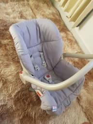 Bebê Conforto Piccolina Cinza Off Galzerano