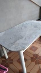 Mesa 1.50 cm X 90 cm - mármore branco