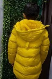 Jaqueta menino criança bem grossa