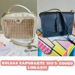 Título do anúncio: Bolsas Capodarte 100% couro!
