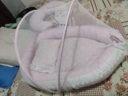 Vende se ninho de bebê com mosquiteiro