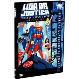 DVD Liga Da Justiça: Sem Limites Volume 2