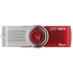 Kit C/3 Pen Drive 8gb - Kingston - Barato