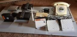 Receptor de TV - roteadores - fontes e cabos