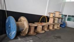 Bobinas de madeira - Lote com diversas medidas