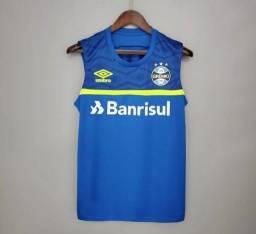 Camisa basqueteira Grêmio Tailandesa Premium 1.1