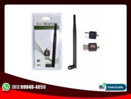 Adaptador Wireless Usb Wifi 1200 mbps Lan B/g/n