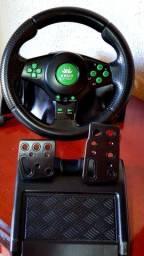 Volante Racer Xbox 360 Ps3 Ps2 Pc Pedal Cambio Vibração