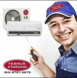 Título do anúncio: Instalação e Manutenção ar condicionado profissional