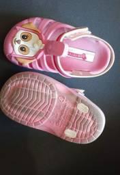 Lote menina calçados 19