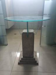 Mesa de canto travertino 0.50 cm