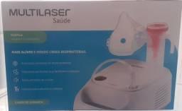 Título do anúncio: Respirador inalador compressor multilaser novo