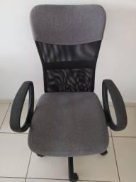 Título do anúncio: Cadeira de escritório preto/cinza