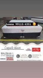 Título do anúncio: Cama Queen Pelmex Nova Direto de fábrica Entrega grátis no mesmo dia