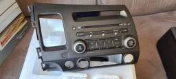 Título do anúncio: Radio Original Honda Civic 2007 A 2011 G8