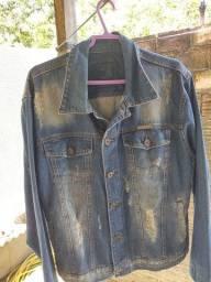 Título do anúncio: Jaqueta jeans, Bazar