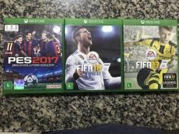 Pes 2017, FIFA 17 e 18