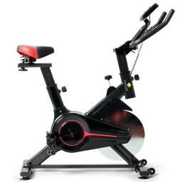 Bicicleta Spining Profissional 6Kg de  Inergia Nova de Outlet a Pronta Entrega