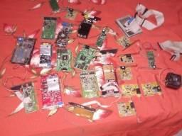 lote de peças de computador