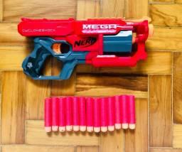 Nerf Cycloneshock Mega Darts - como nova