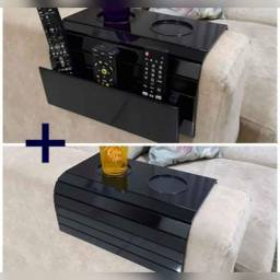 kit 2 Bandejas para Sofá Com Porta Copos e Porta Controles .