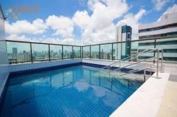 Título do anúncio: Apartamento com 2 dormitórios à venda, 52 m² por R$ 450.000,00 - Aflitos - Recife/PE