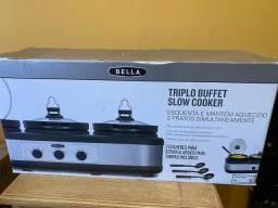 Buffet Triplo Slow Cooker