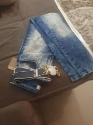 Calça jeans lança