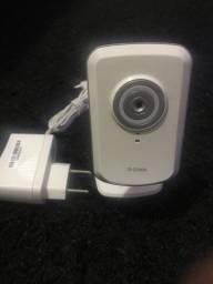 Câmera de Segurança IP Wireless D-link Dcs-930l Babá Eletronica