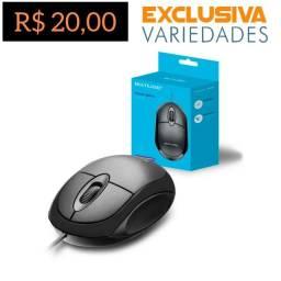 Mouse Óptico Full Black USB