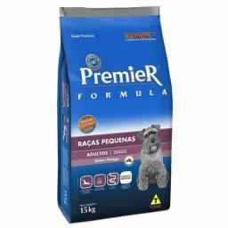 ração premier - sabor frango 15kg  (raças pequenas)