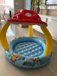 Título do anúncio: Mini piscina coberta inflável