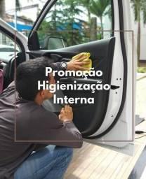 LAVAGEM A SECO E INTERNA EM CARROS
