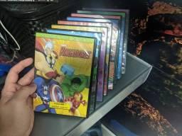 Coleção de DVD Vingadores Os Super-Heroís Mais Poderosos da Terra