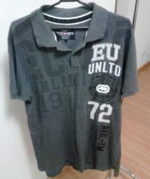 Camisa Polo Ecko Semi-Nova Tamanho G