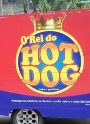 Vendo Trayler Hot Dog